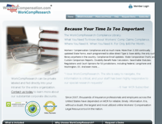 ww2.workcompresearch.com screenshot