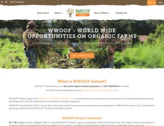 wwoof.ie screenshot