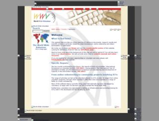 wwv.icvolunteers.org screenshot