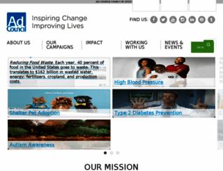 www-adcouncil-org.careerliaison.com screenshot