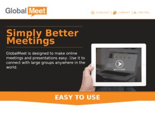 www-ap1.globalmeet.com screenshot