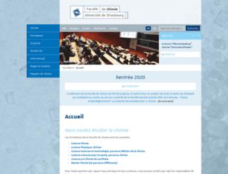 www-chimie.u-strasbg.fr screenshot