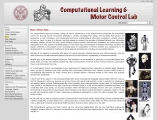 www-clmc.usc.edu screenshot