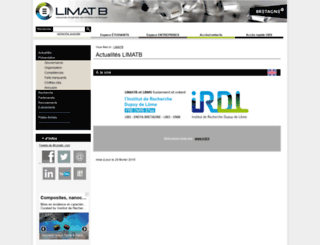 www-limatb.univ-ubs.fr screenshot