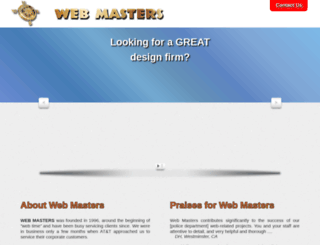 www-masters.com screenshot