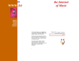 www.dj screenshot
