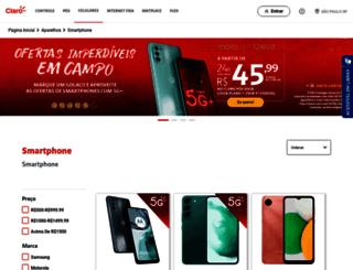 www2.claro.com.br screenshot