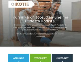 www2.oikotie.fi screenshot