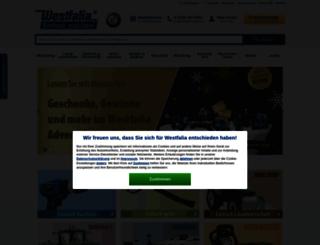 www2.westfalia-versand.at screenshot