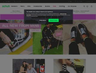 www3.schuh.co.uk screenshot
