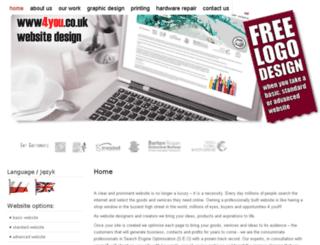 www4you.co.uk screenshot