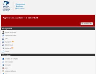 wwwdfr.ensta.fr screenshot