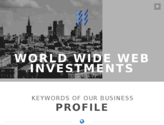 wwwinvestments.org screenshot