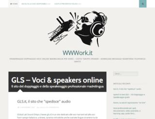 wwwork.it screenshot
