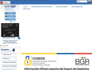 wwwp1.bgr.com.ec screenshot