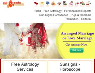 wwww.askganesha.co.in screenshot