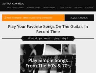 wwww.guitarcontrol.com screenshot