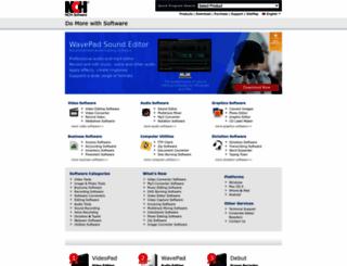 wwww.nchsoftware.com screenshot