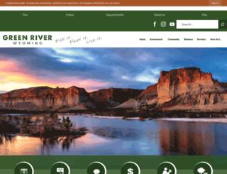 wy-greenriver.civicplus.com screenshot