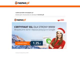 wybierzprodukt.energiaplus.pl screenshot