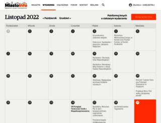 wydarzenia.miasto-info.pl screenshot
