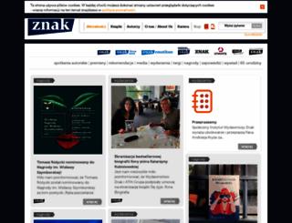 wydawnictwoznak.pl screenshot