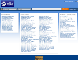 wyld.sdp.sirsi.net screenshot