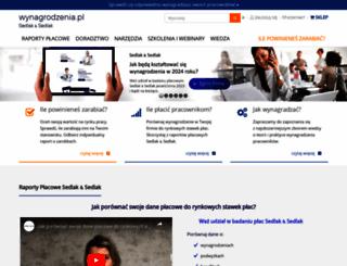 wynagrodzenia.pl screenshot