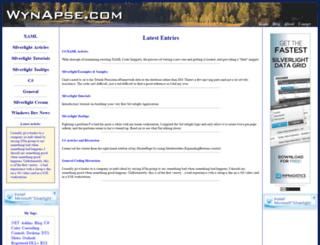 wynapse.com screenshot