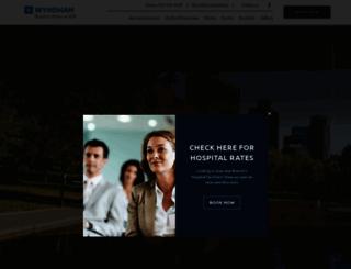 wyndhambeaconhill.com screenshot