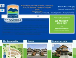 wynnridge.ca screenshot