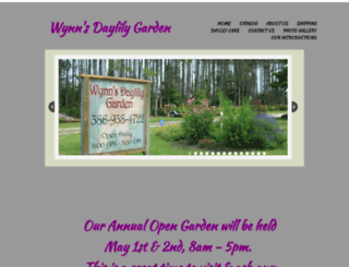 wynnsdaylilygarden.com screenshot
