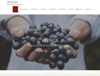 wynsa.co.za screenshot
