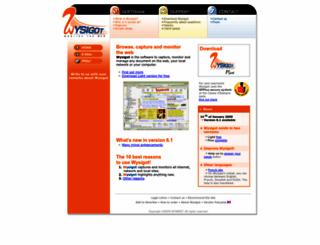 wysigot.com screenshot