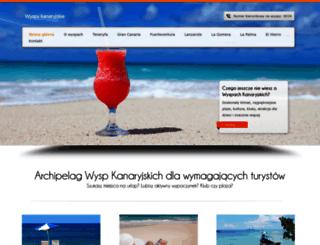 wyspykanaryjskie.com.pl screenshot