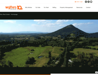 wythes.com.au screenshot