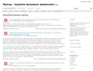 wytrop.homopedia.pl screenshot