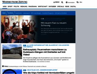 wz-krefeld.de screenshot