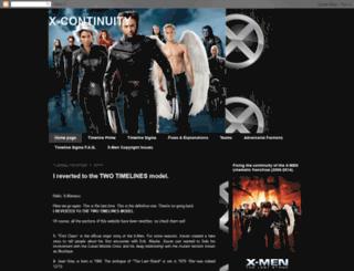 x-continuity.blogspot.fr screenshot