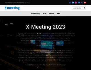 x-meeting.com screenshot