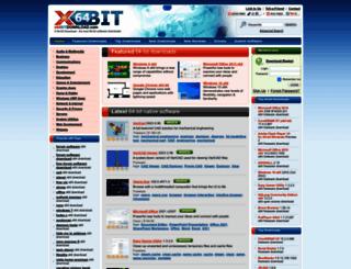 x64bitdownload.com screenshot