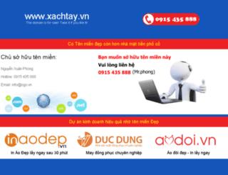 xachtay.vn screenshot