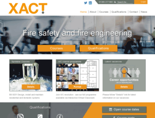 xact.org.uk screenshot