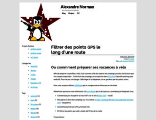 xael.org screenshot