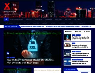 xahoithongtin.com.vn screenshot