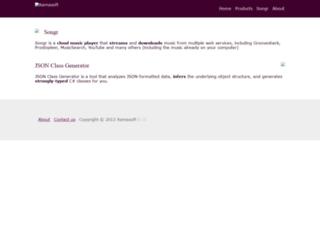 xamasoft.com screenshot