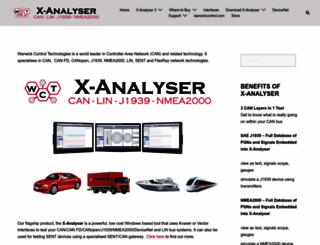 xanalyser.com screenshot