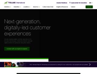 xavient.com screenshot