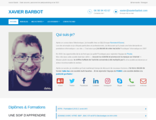 xavierbarbot.com screenshot