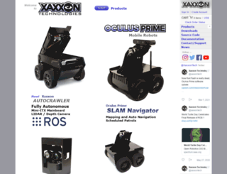 xaxxon.com screenshot